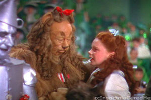 Courage for Cowardly Lion